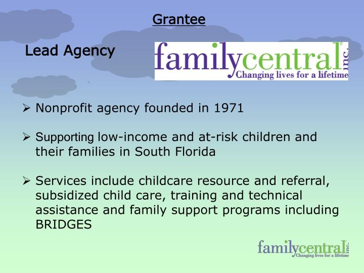 Nonprofit agency founded in 1971