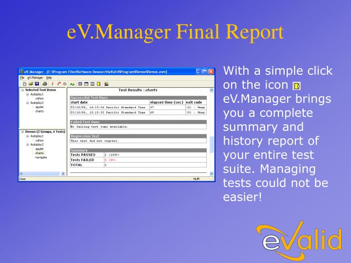eV.Manager Final Report