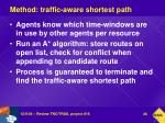 method traffic aware shortest path
