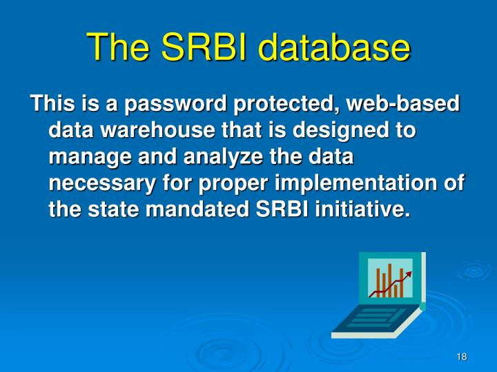 The SRBI database