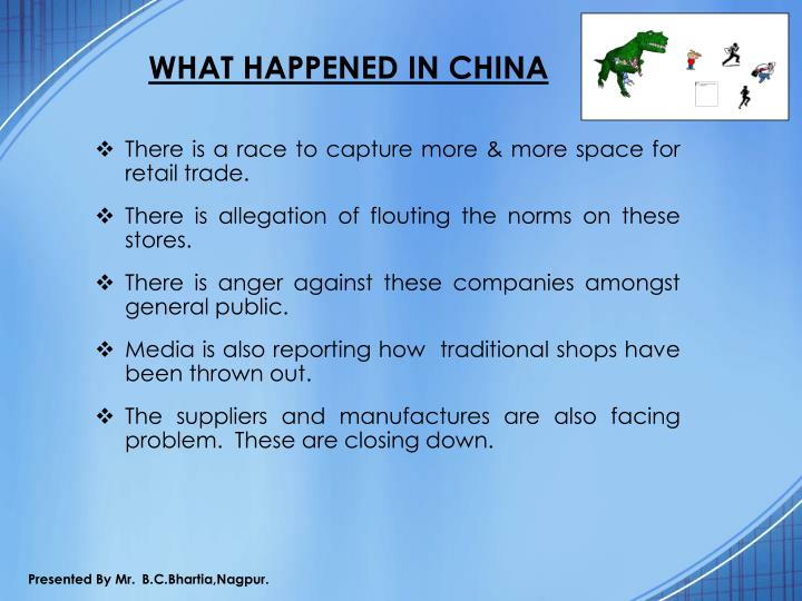 WHAT HAPPENED IN CHINA