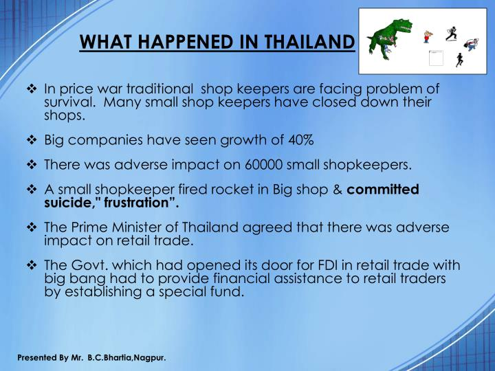 WHAT HAPPENED IN THAILAND