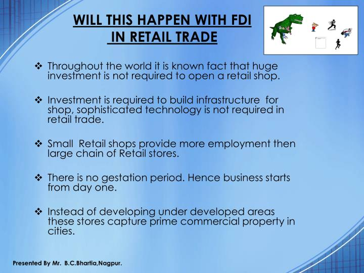 WILL THIS HAPPEN WITH FDI