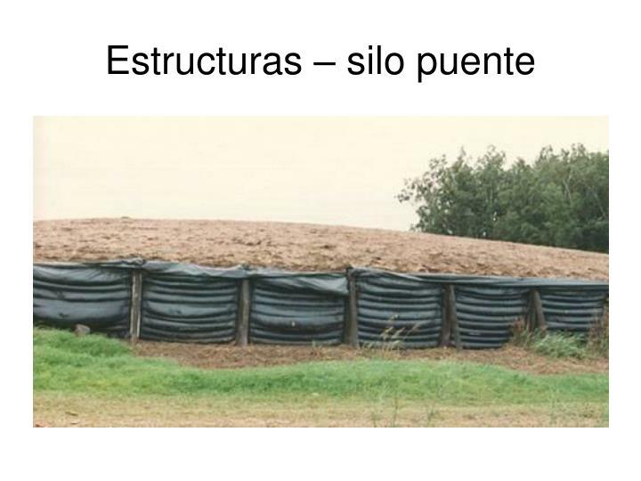 Estructuras – silo puente