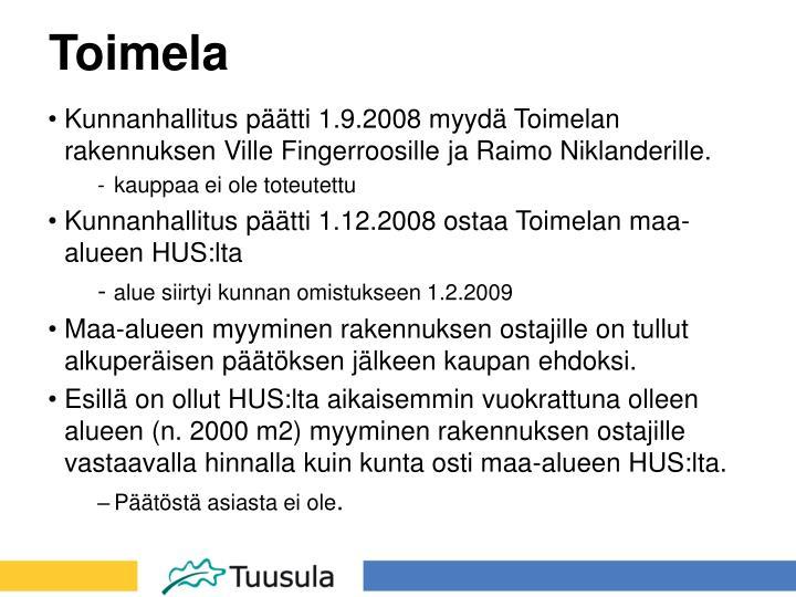 Toimela
