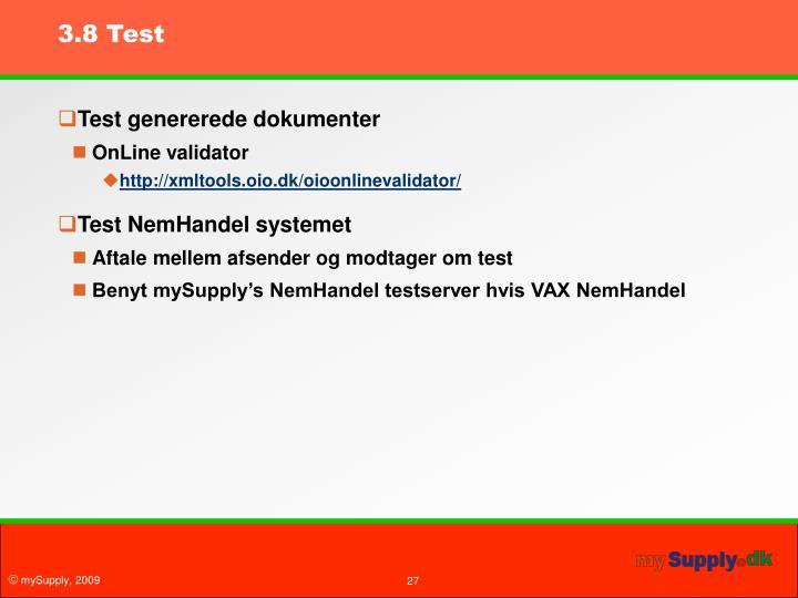 3.8 Test