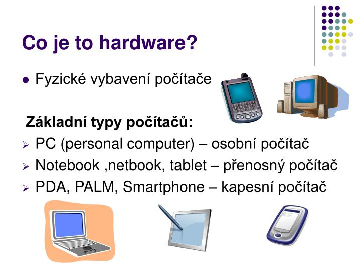 Co je to hardware?