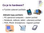 co je to hardware