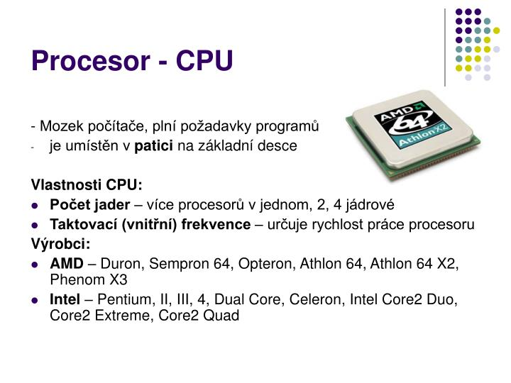Procesor - CPU