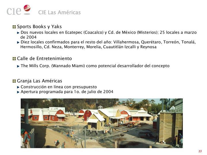 CIE Las Américas