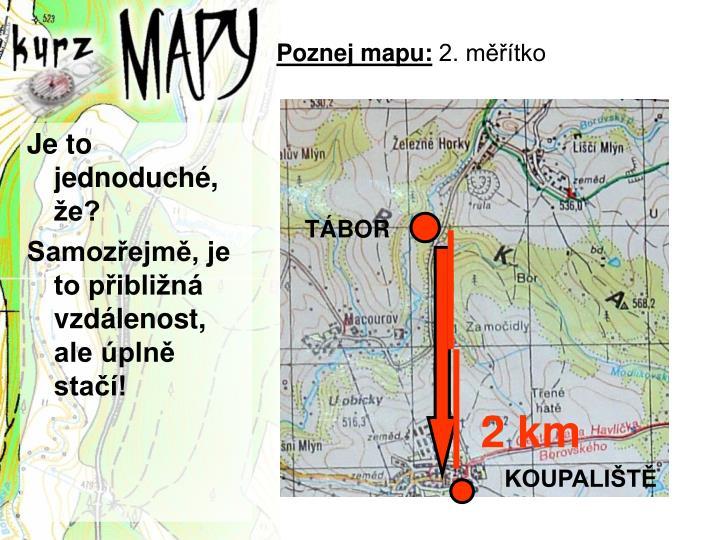 Poznej mapu: