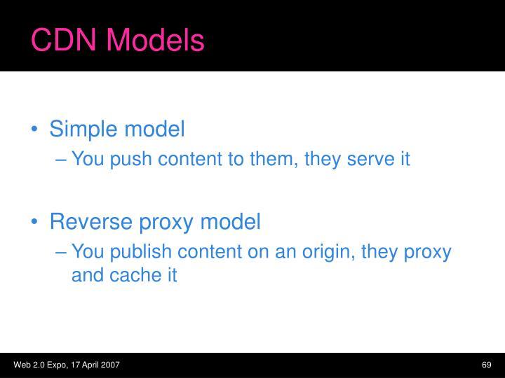 CDN Models