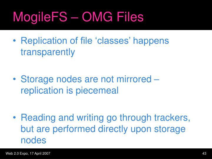 MogileFS – OMG Files
