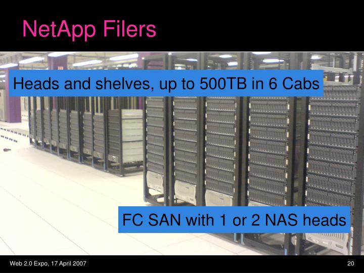 NetApp Filers