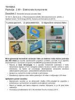 1 piezouporovni 2 piezoelektri ni 3 kapacitivni senzorji tlaka