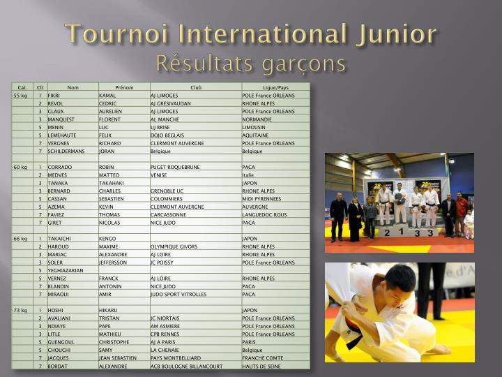 Tournoi International Junior