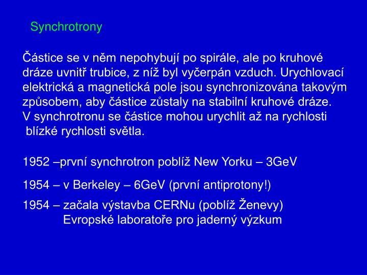 Synchrotrony