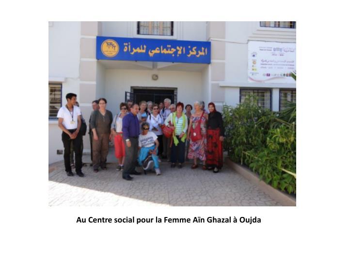 Au Centre social pour la Femme