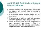 ley n 18 695 org nica constitucional de municipalidades1