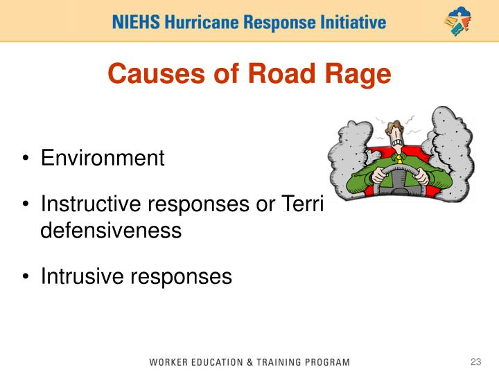 Causes of Road Rage