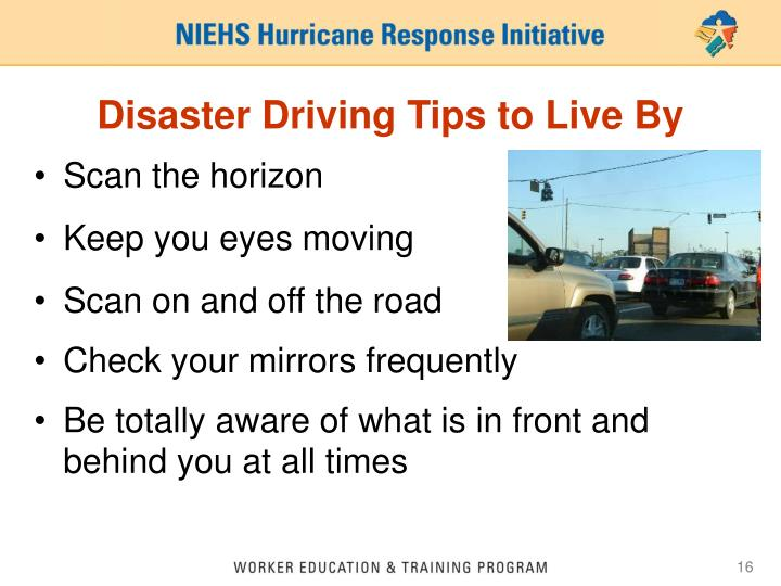 Disaster Driving Tips to Live By