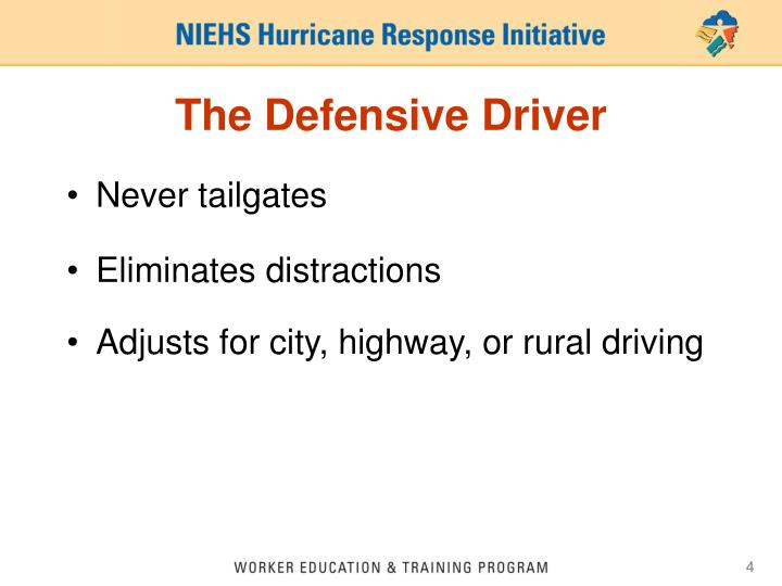 The Defensive Driver