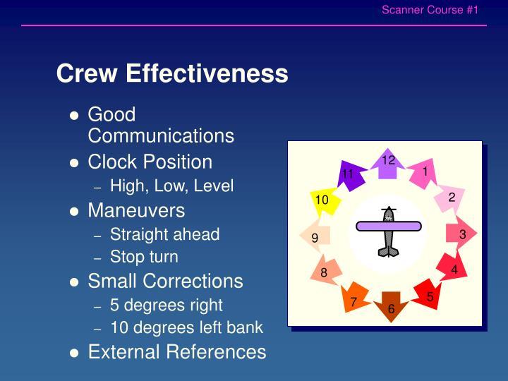 Crew Effectiveness