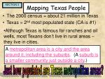 mapping texas people