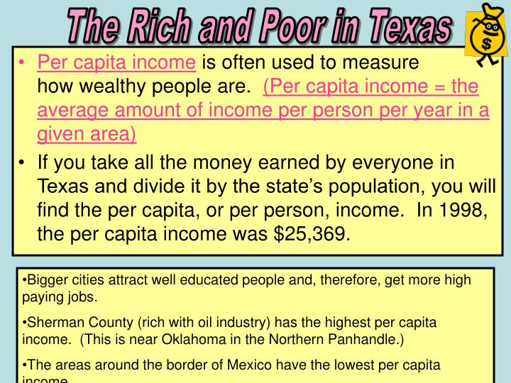 The Rich and Poor in Texas