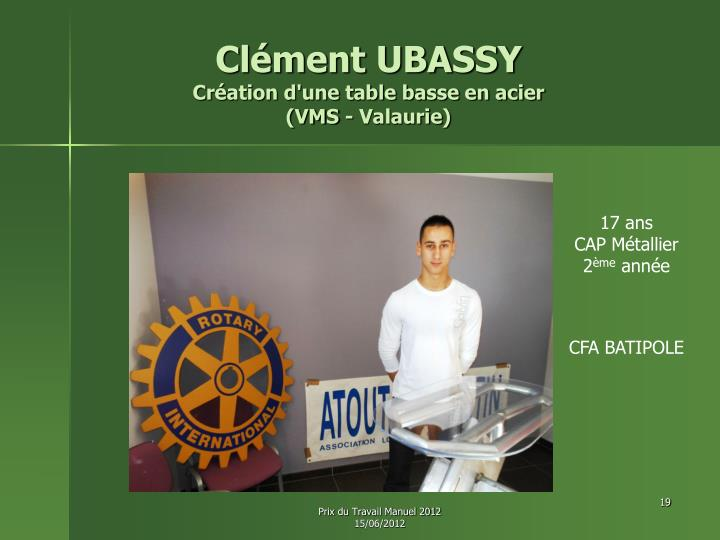 Clément UBASSY
