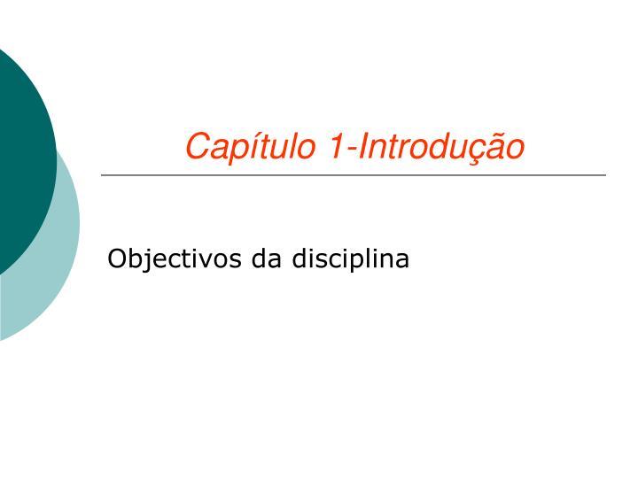 Capítulo 1-Introdução
