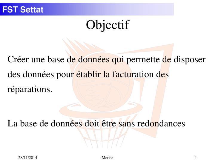 Objectif