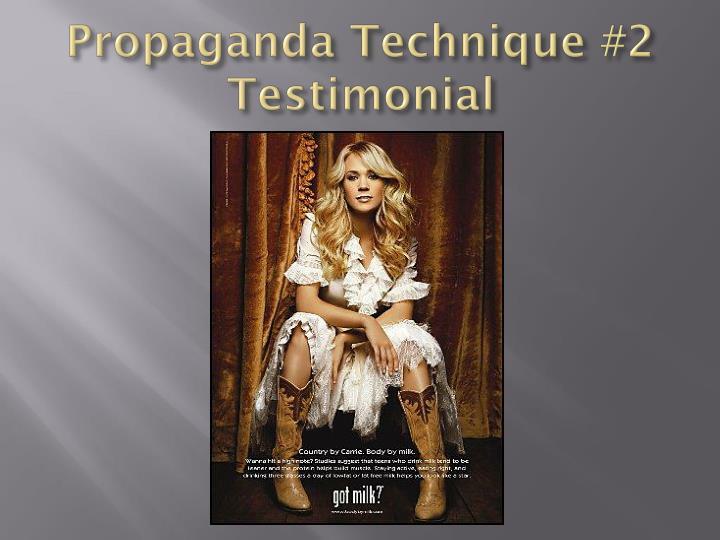 Propaganda Technique #2