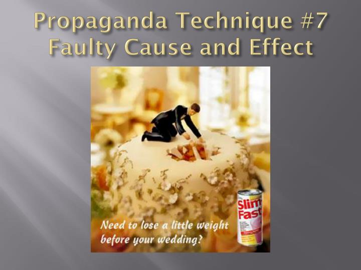 Propaganda Technique #7