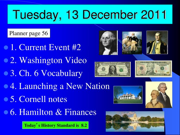 Tuesday 13 december 2011