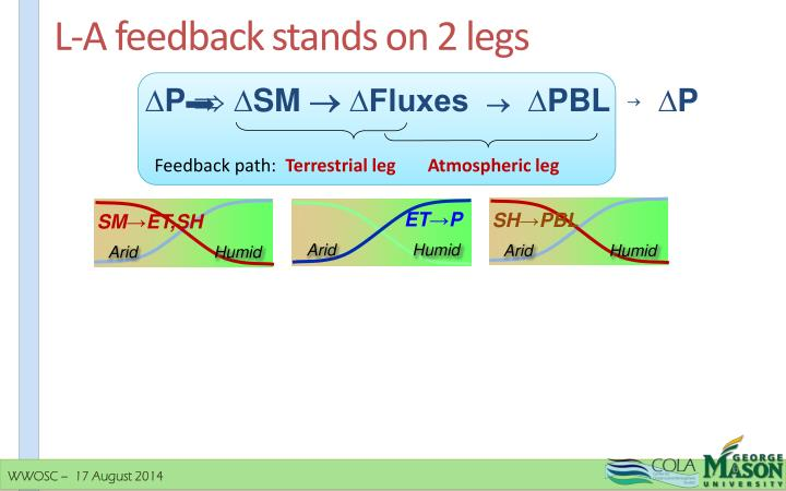 L-A feedback stands on 2 legs