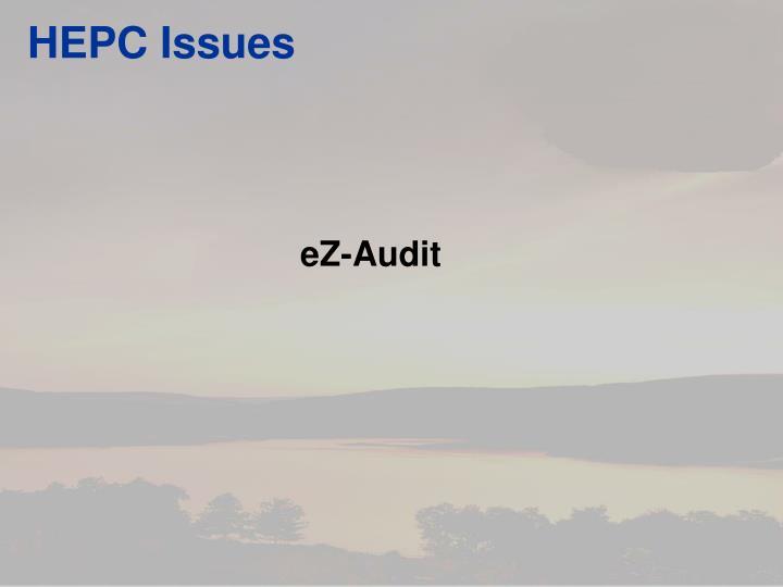 HEPC Issues
