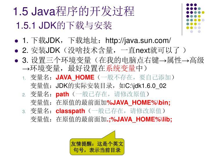 1.5 Java
