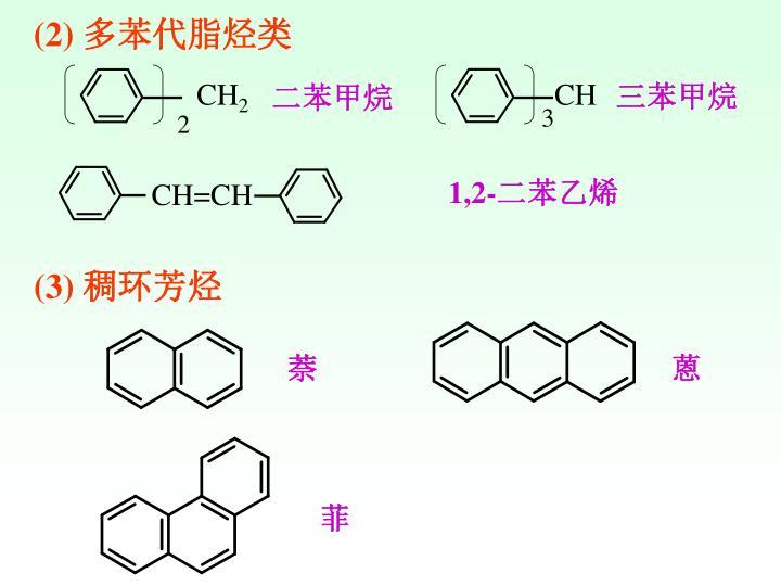 (2) 多苯代脂烃类