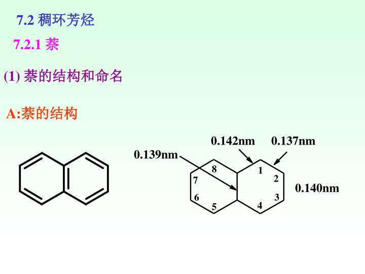 7.2 稠环芳烃