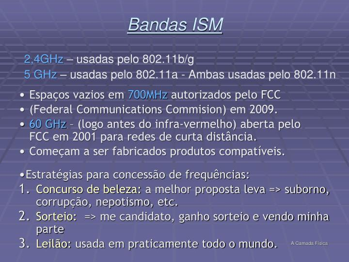 Bandas ISM