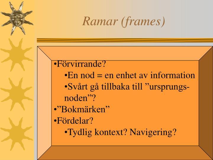 Ramar (frames)