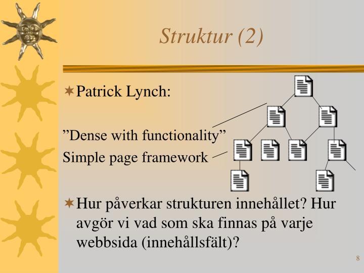 Struktur (2)