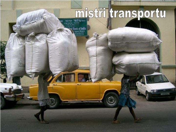 mistři transportu