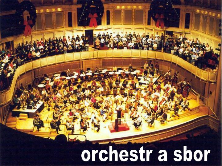orchestr a sbor