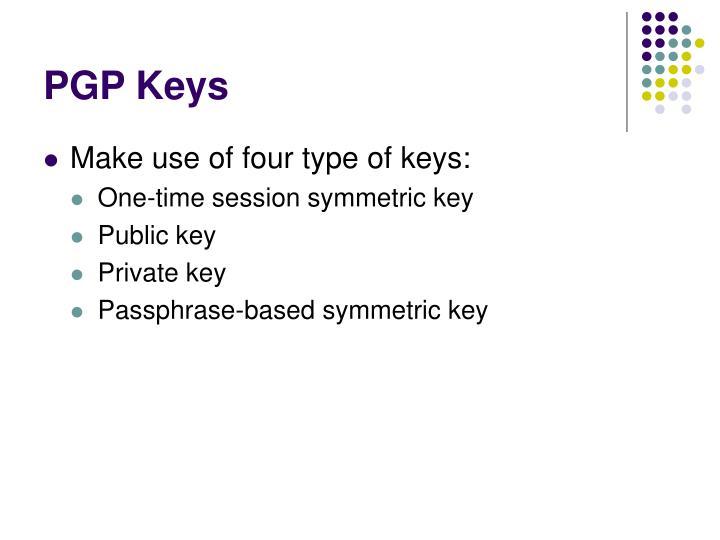 PGP Keys