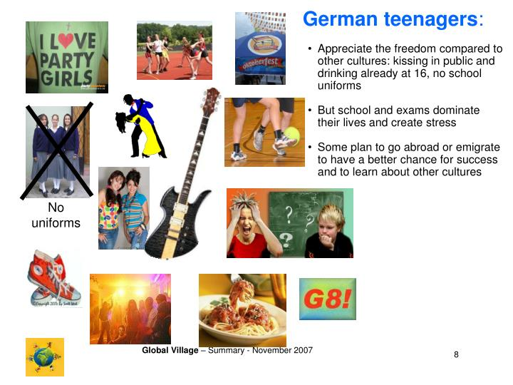 German teenagers