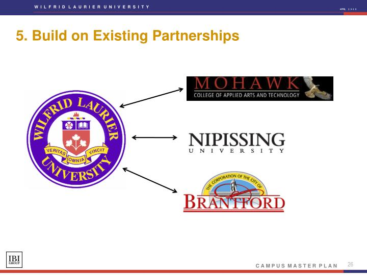 5. Build on Existing Partnerships