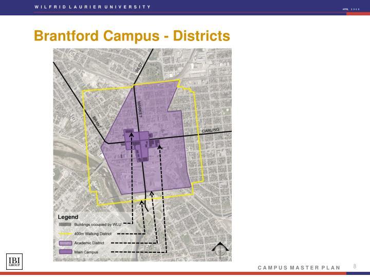 Brantford Campus - Districts
