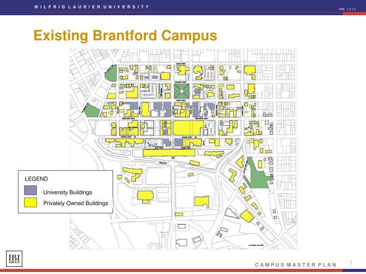 Existing Brantford Campus